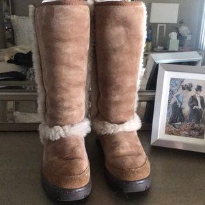 Ugg women's talk sunburst boots